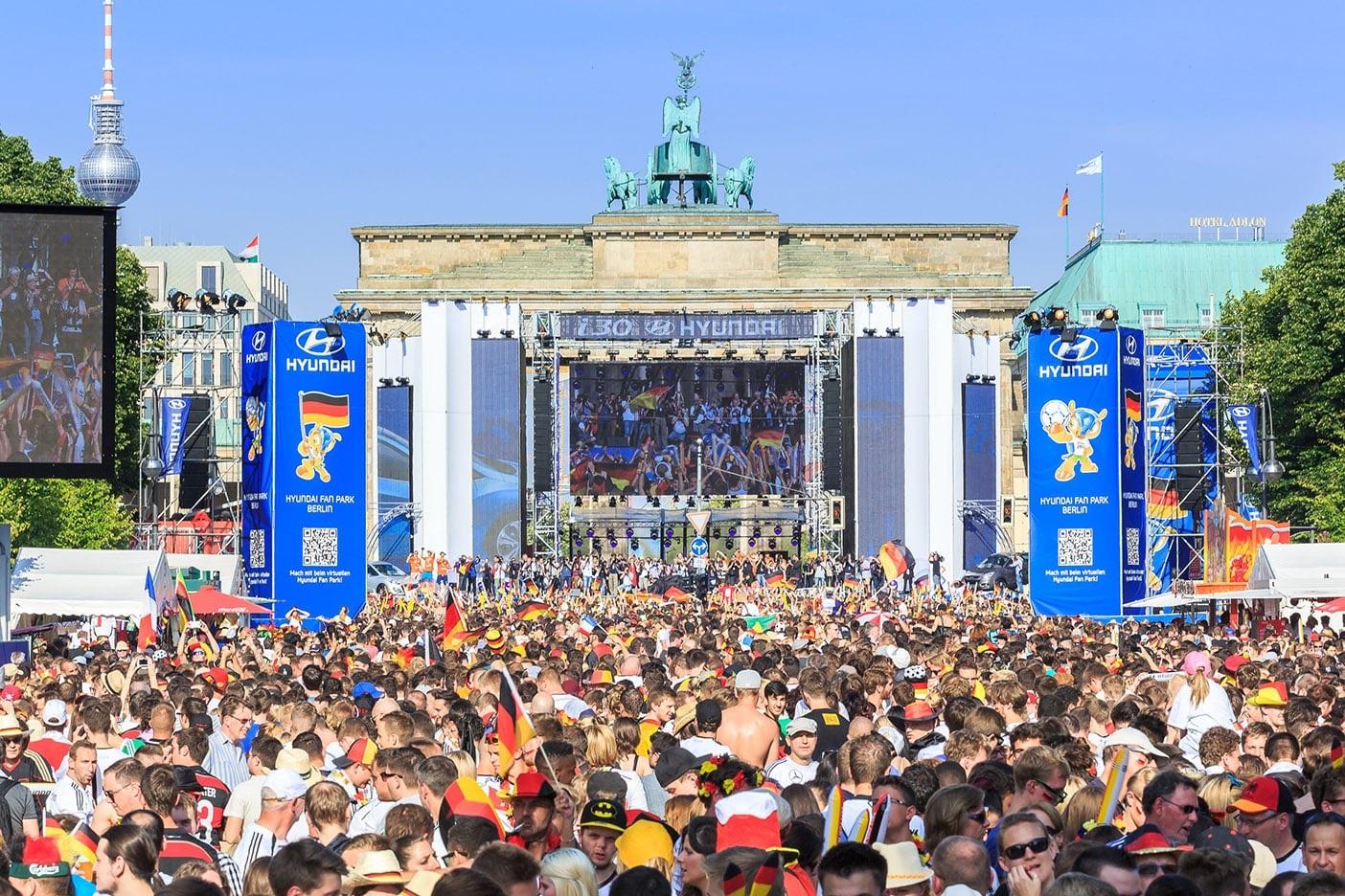 Fanmeile Brandenburger Tor